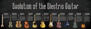 elektro gitarın evrimi