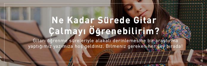 Gitar Öğrenme Yaşı